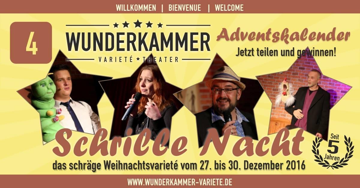 Bauchredner Tim Becker bei Wunderkammer Varieté im Harz