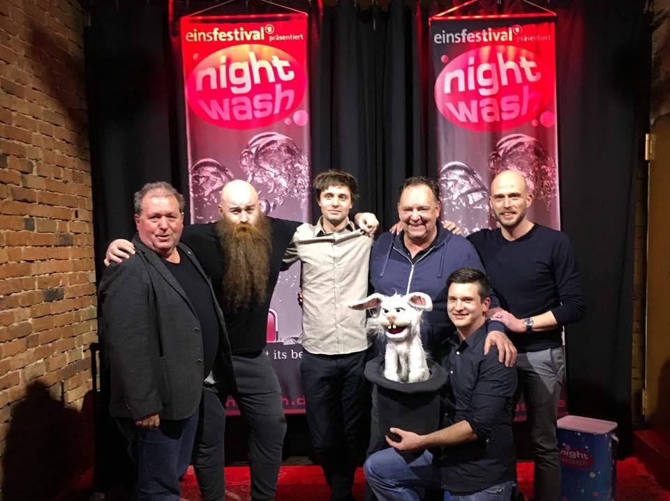 NIghtwash Bielefeld mit Bauchredner Tim Becker